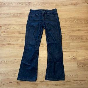 Joe's jeans, denim, dark wash, muse for, size 27